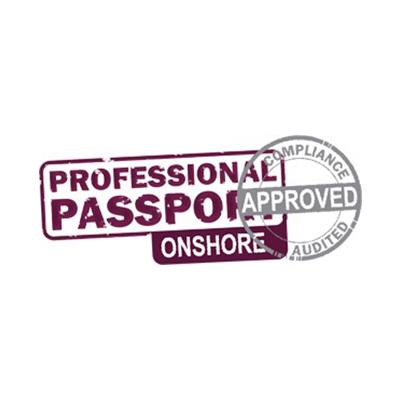 Logo passport onshore
