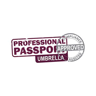 Logo passport umbrella